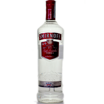 VODKA SMIRNOFF RED CL. 100 BT. 1